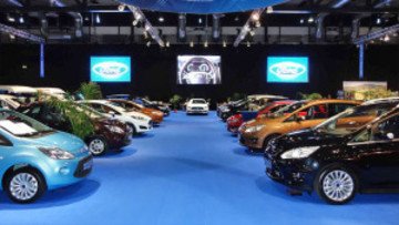 Ford Messestand automobil 2015 Freiburg