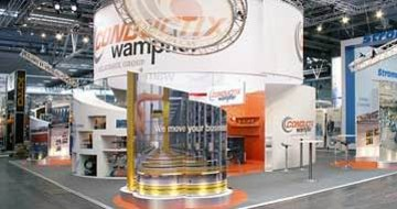 Wampfler Messestand